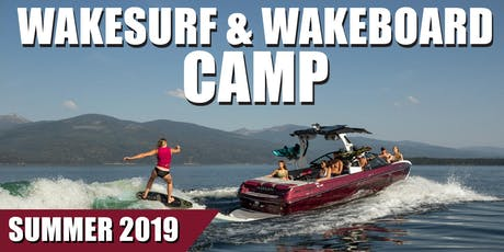 Wakeboard and Wakesurf Day Camp - Rinker's Boat World tickets