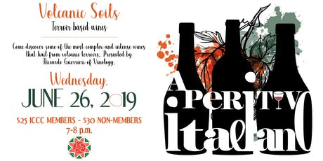 Aperitivo Italiano: Volcanic Soils, Terroir Based Wines  tickets