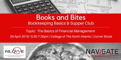 Books & Bites: Bookkeeping Basics and Supper Club