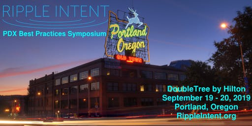 Ripple Intent Portland- Best Practices Symposium