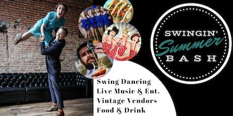 Swingin' Summer Bash 2019 tickets