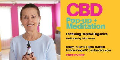 CBD POP-UP + MEDITATION