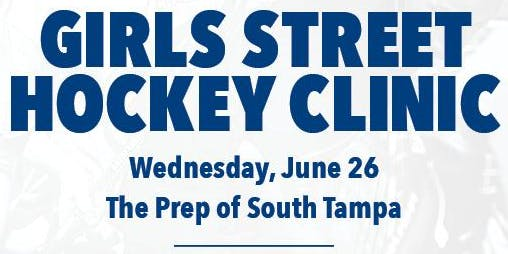 Girls Street Hockey Clinic - The Prep of South Tampa