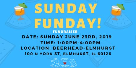 SUNDAY FUNDAY! Benefiting Magnificent Mutts & Meows Rescue tickets