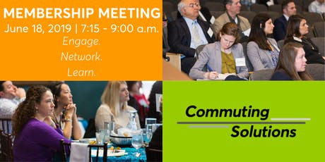 Commuting Solutions June Membership Meeting tickets