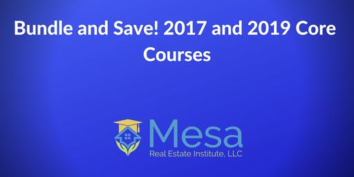 Bundle and Save 10%! 2017 and 2019 Core Courses.