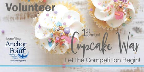 Cupcake War - Volunteers tickets