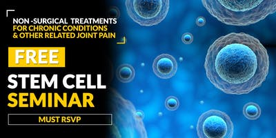 FREE Regenerative Stem Cell Seminar for Pain Relief-  Golden, CO 4/30