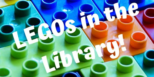 LEGOs in the Library! (Grades K & Up)-6/24 @ 1:00 PM