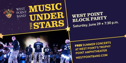 West Point Block Party - Music Under the Stars