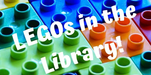 LEGOs in the Library! (Grades K & Up)-7/1 @ 1:00 PM