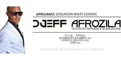 AfroJamz x Friends: White Sensation w/h live on stage DJEFF AFROZILA