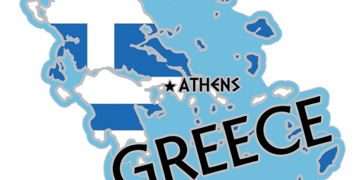 2019 Race Across the Greece 5K, 10K, 13.1, 26.2 -Charleston