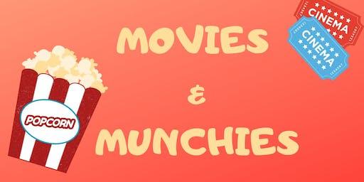 Movies & Munchies (Grades K & Up)- 6/25 @1:00pm