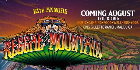 Reggae On The Mountain 10 Year Anniversary Festival tickets