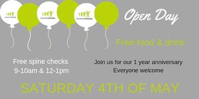 Free Spine Checks & Open Day