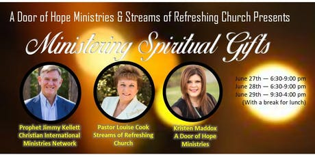 Ministering Spiritual Gifts with Jimmy Kellett tickets