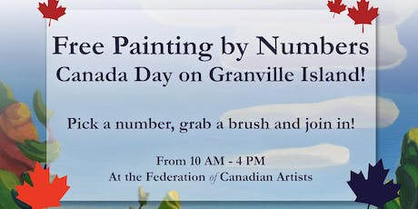 Collective Paint-by-Numbers this Canada Day tickets