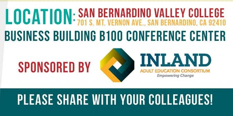 3rd Annual Inland CAEP Regional Super Consortia PD Day  tickets