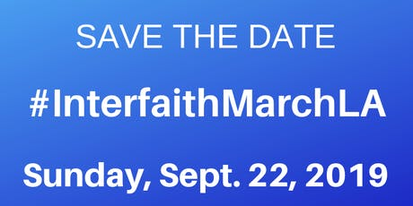 Interfaith March LA tickets