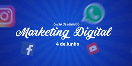 Curso de Imersão Marketing Digital ingressos