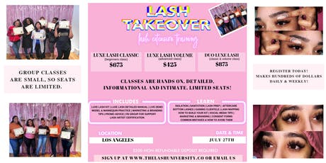 2 in 1 Mink Lash Training - Detailed - Hands On tickets