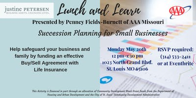 Lunch and Learn - Succession Planning for Small Businesses
