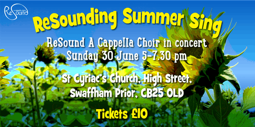 Resounding Summer Sing