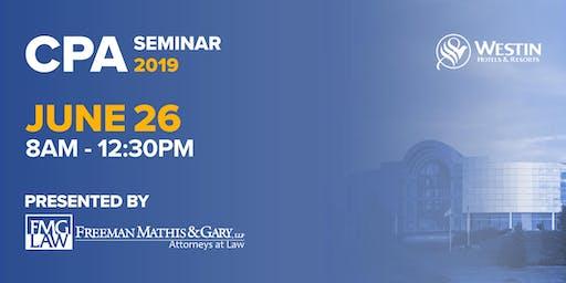 CPA Seminar 2019