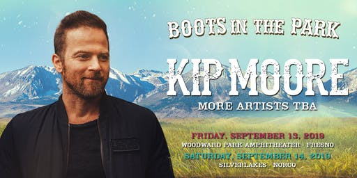 MERCH - BOOTS IN THE PARK - KIP MOORE