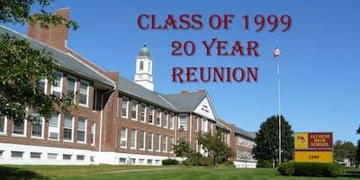"""Alvirne Highschool Class of 1999... """"20"""" Year Reunion"""
