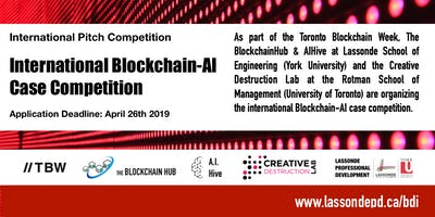 International Blockchain-AI Case Competition