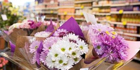 Super Market Flower Bouquet Workshop tickets