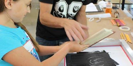 Kids Camp:  Printmaking tickets