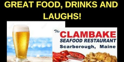 Comedian Bob Marley Clambake at Pine Point Scarborough June 19 @8pm!