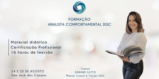 9ª FORMAÇÃO EM ANALISTA COMPORTAMENTAL