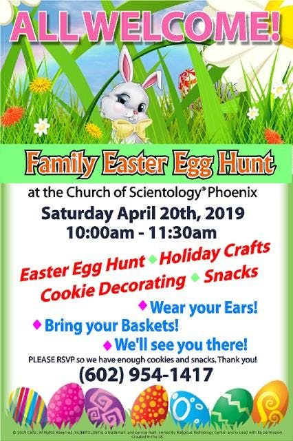 Easter Egg Hunt & Craft Day - All Families Welcome