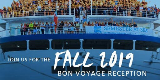 Semester at Sea Fall 2019 Bon Voyage Reception