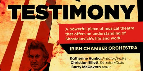 TESTIMONY (IRISH CHAMBER ORCHESTRA) tickets