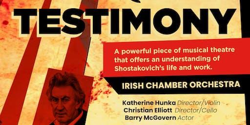 TESTIMONY (IRISH CHAMBER ORCHESTRA)