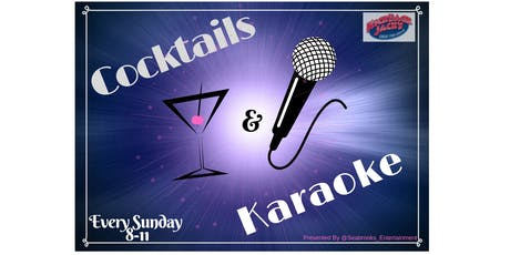 """SEABROOKS KARAOKE & COCKTAILS: YOUR WEEKEND """"WINE-DOWN"""" EVENT! :)) tickets"""