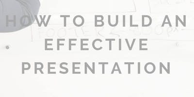 SCC & THoM - How to build an effective presentation