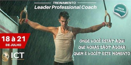 Leader Professional Coach - Introdução a Hipnose e a PNL Sistêmica ingressos