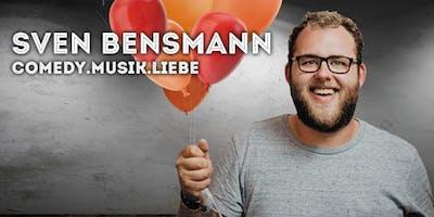 """Sven Bensmann - \""""COMEDY. MUSIK. LIEBE.\"""""""