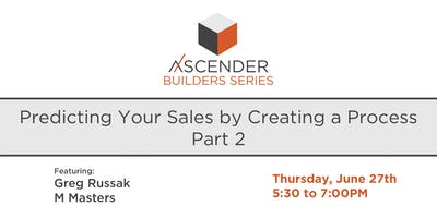 Predicting Your Sales by Creating Process PART 2