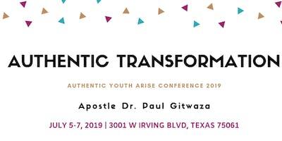 AUTHENTIC TRANSFORMATION conference in Dallas