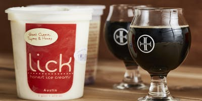 Beer & Ice Cream Pairing with Lick Honest Ice Creams and Lazarus Brewing
