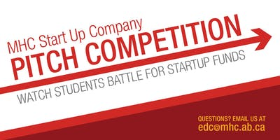 MHC Start Up Company Pitch Competition 2019