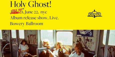 Holy Ghost! tickets