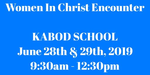 Women In Christ Kabod School